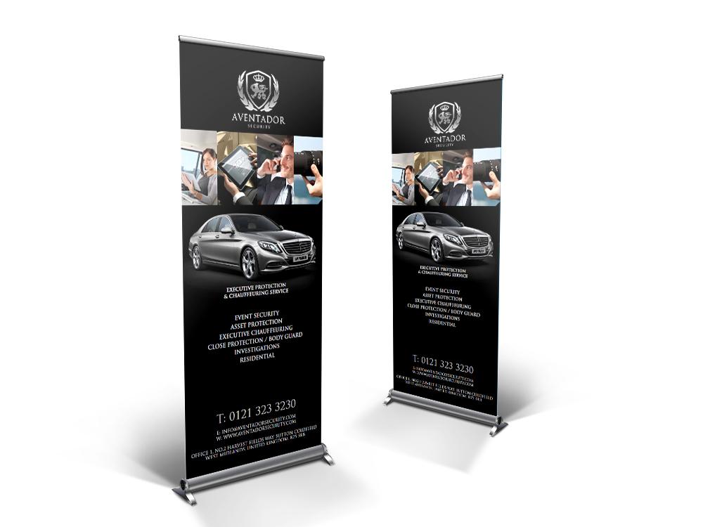 Aventador_roll up banner mock up