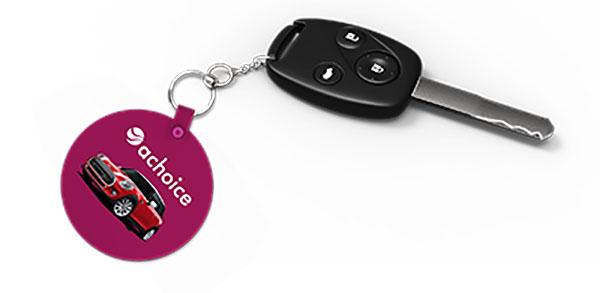 car-key-on-a-choice-key-ring