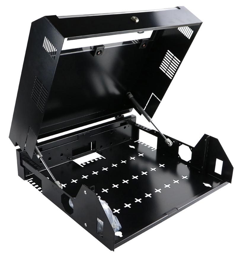350-752 Excel 5U Verticab – Black
